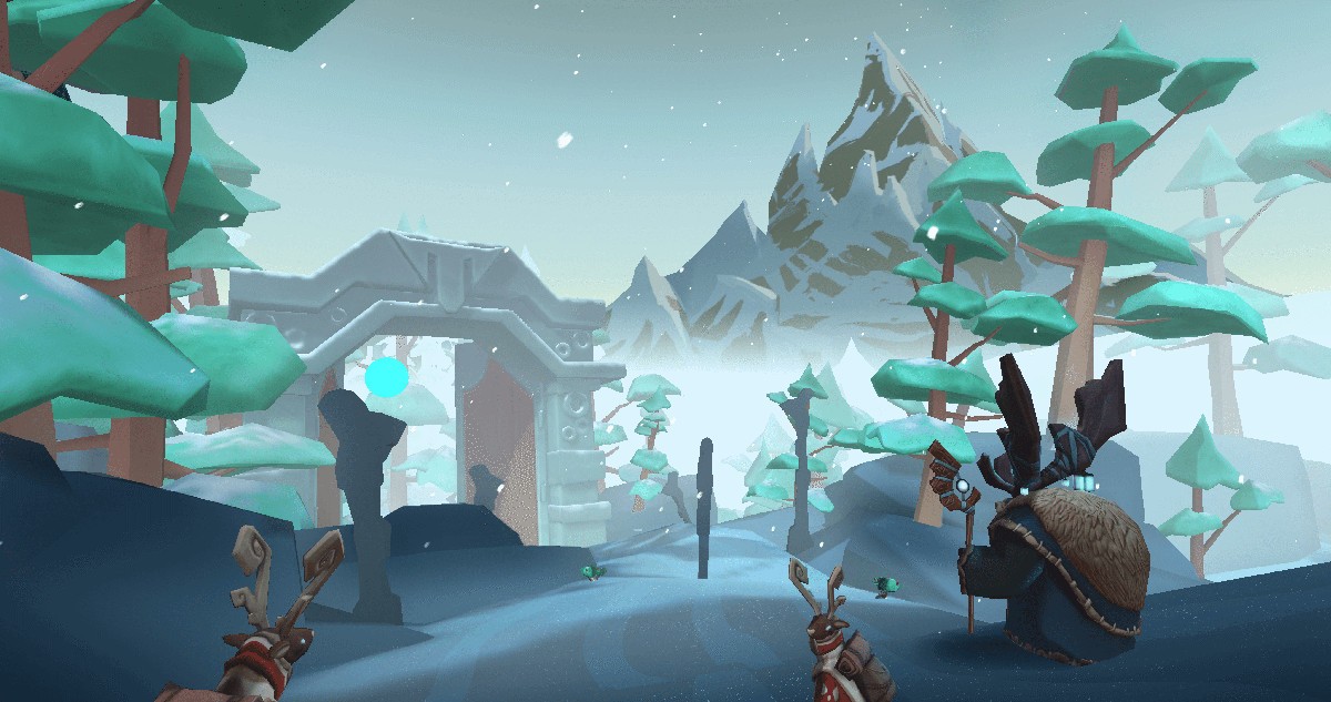Frostbound original mobile vr game by schell games