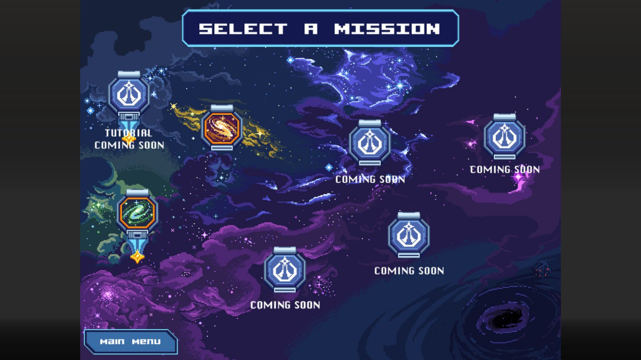 Orion Trail Select a Mission