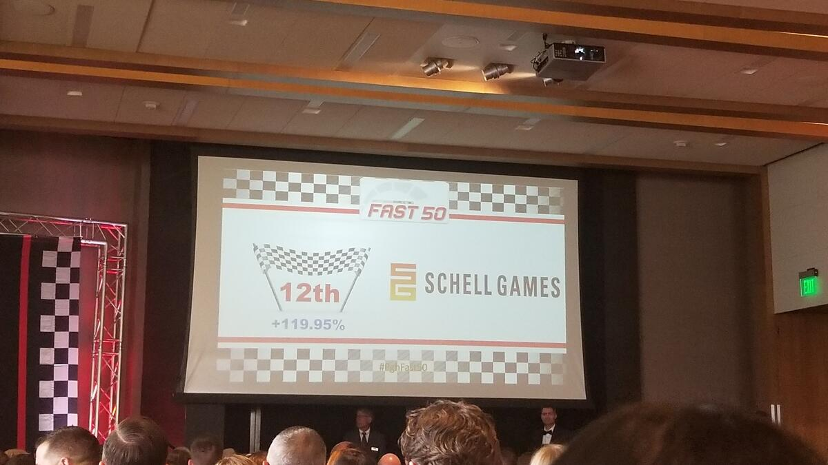 Schell Games at 2018 Fast 50