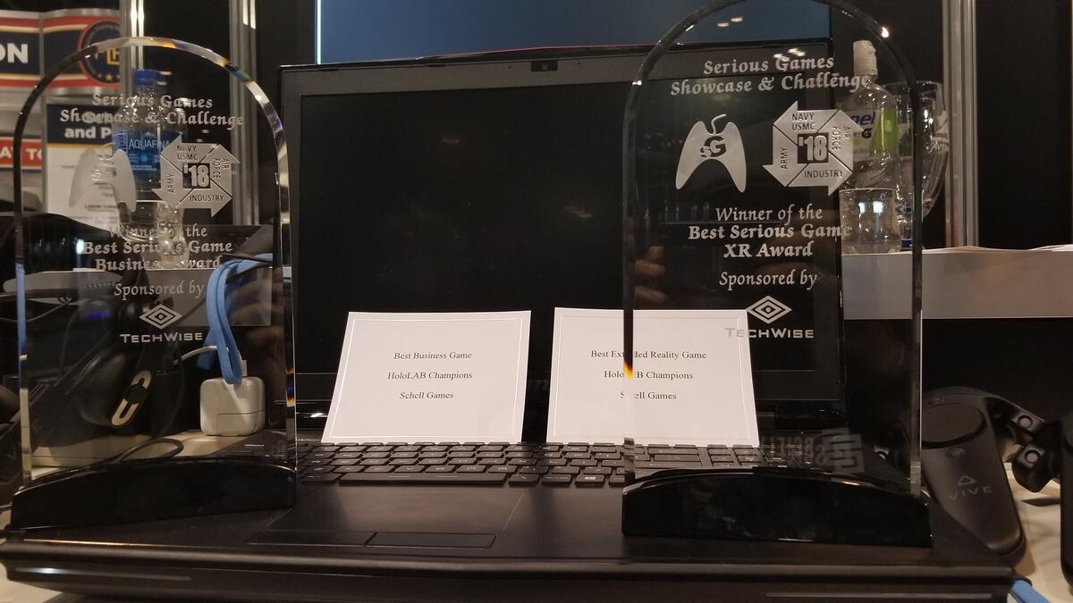 Serious games awards