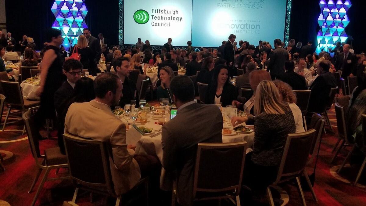 Tech 50 Awards dinner