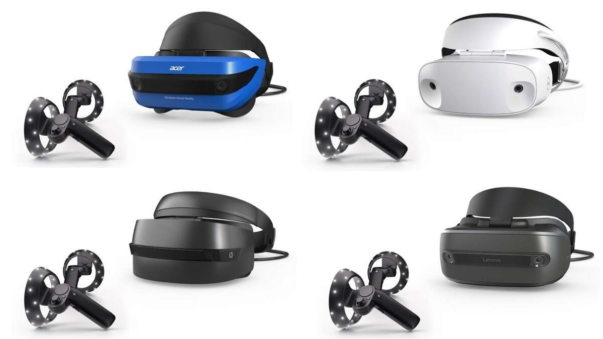 Windwos Mixed Reality Headsets