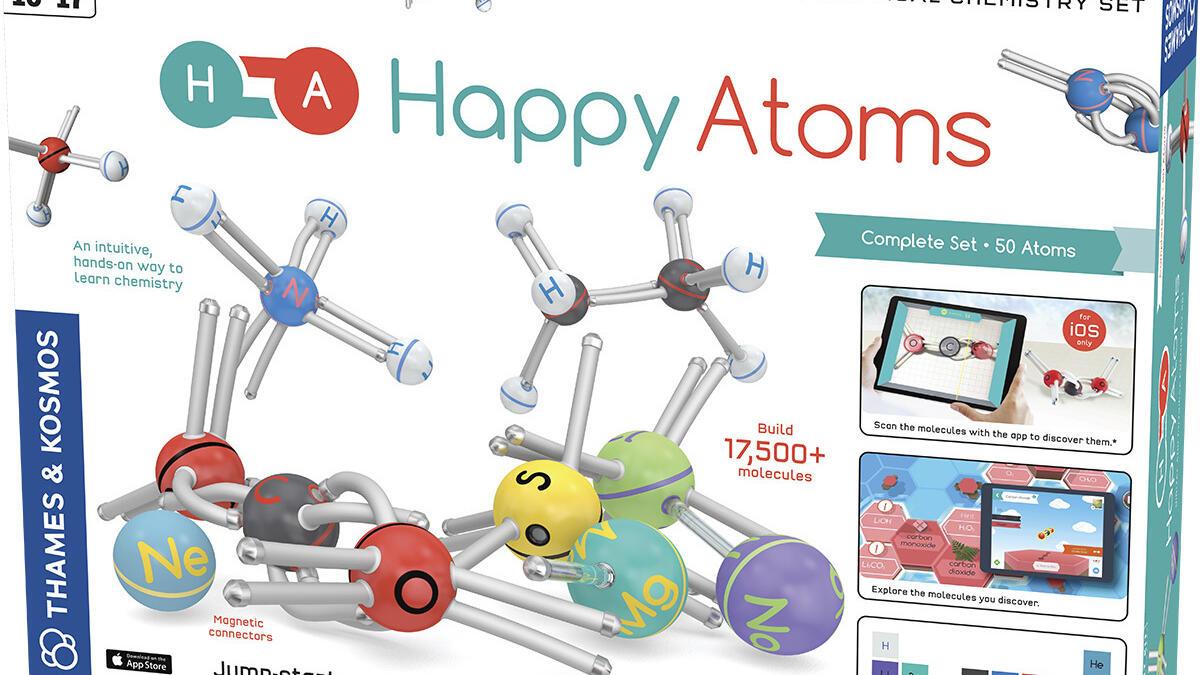 Happy atoms box set